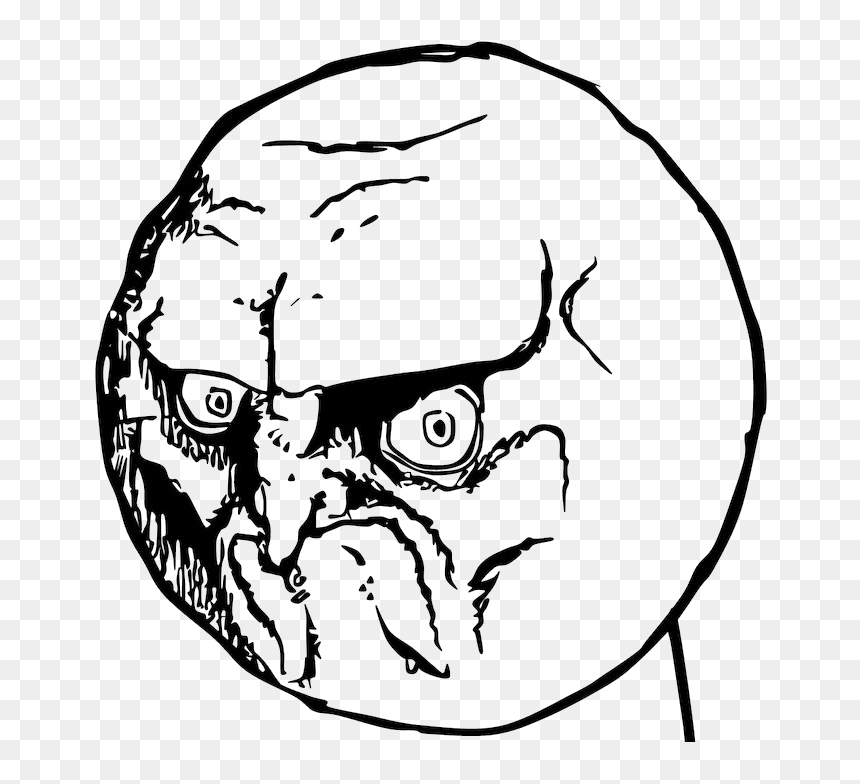 No Rage Face Png Photos Angry Face Meme Png Transparent Png Vhv