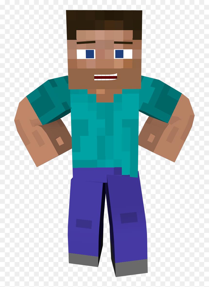 Minecraft Steve Skin Render Png Download Minecraft Steve With