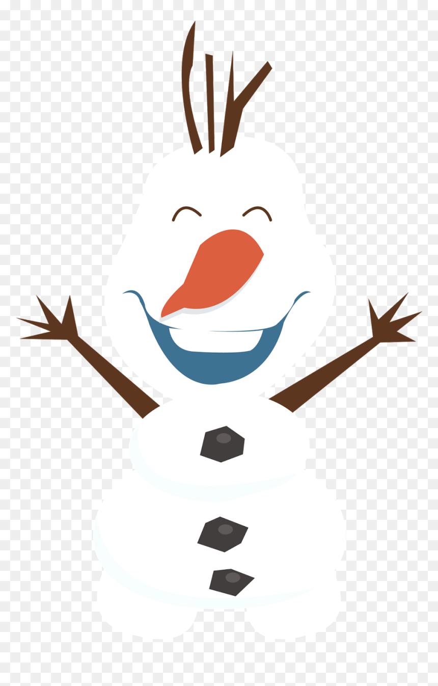 Olaf Frozen Snowman Clip Art