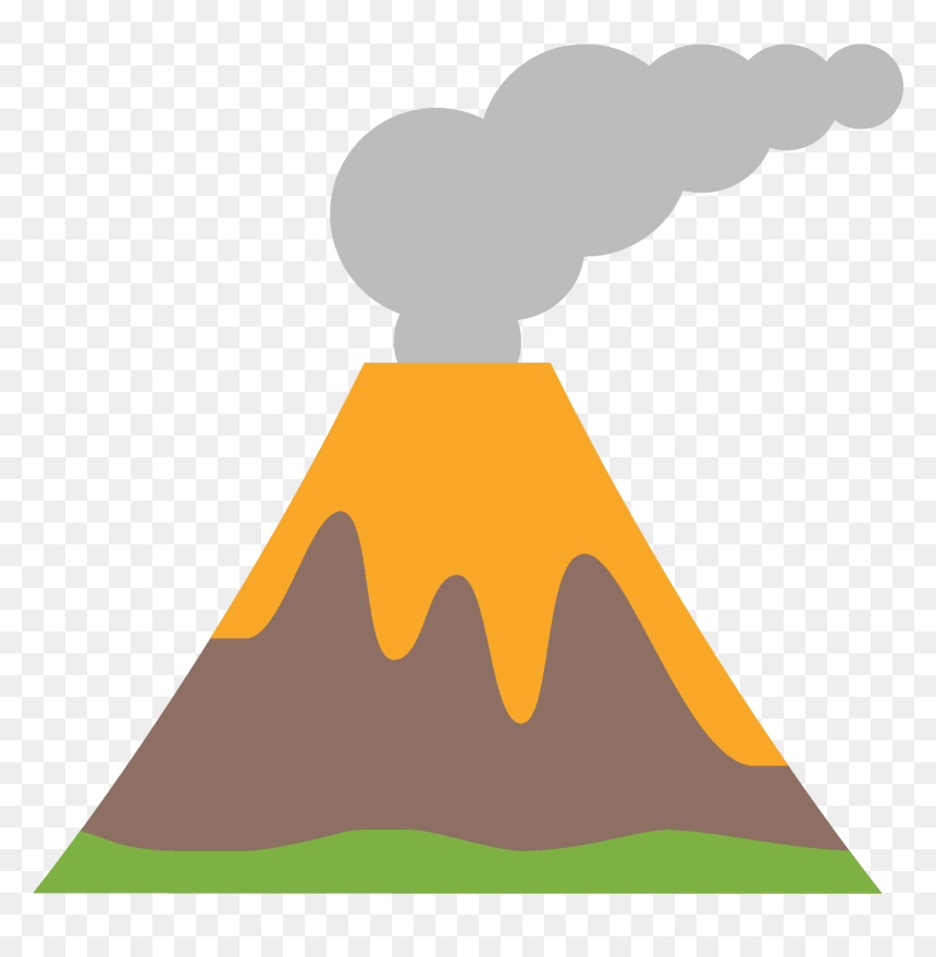 Volcano Erupting Clipart | Free Images at Clker.com - vector clip art  online, royalty free & public domain