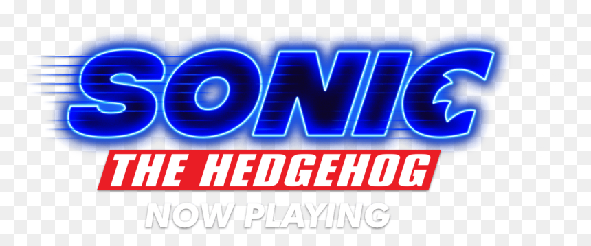 Sonic The Hedgehog Movie Logo Hd Png Download Vhv