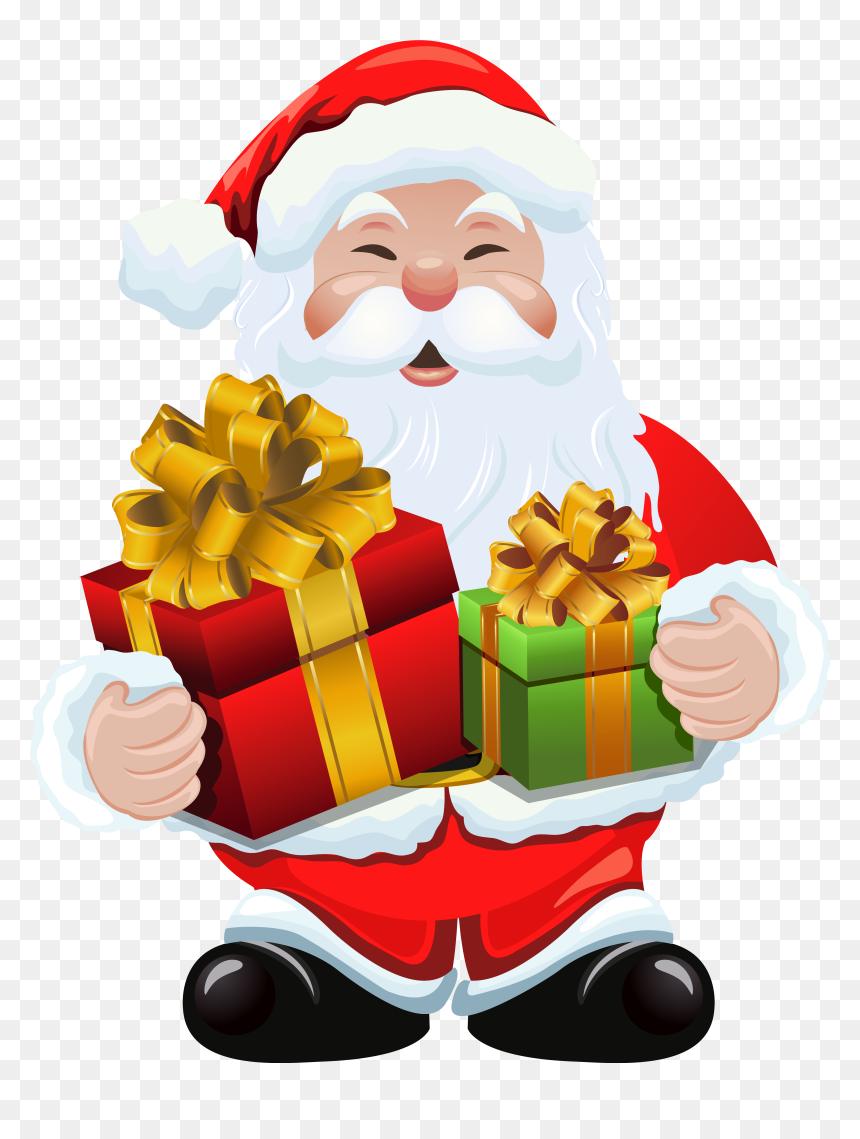 Santa Claus Royalty-free Clip Art, PNG, 5301x4610px, Santa Claus, Art,  Cartoon, Christmas, Christmas Gift Download