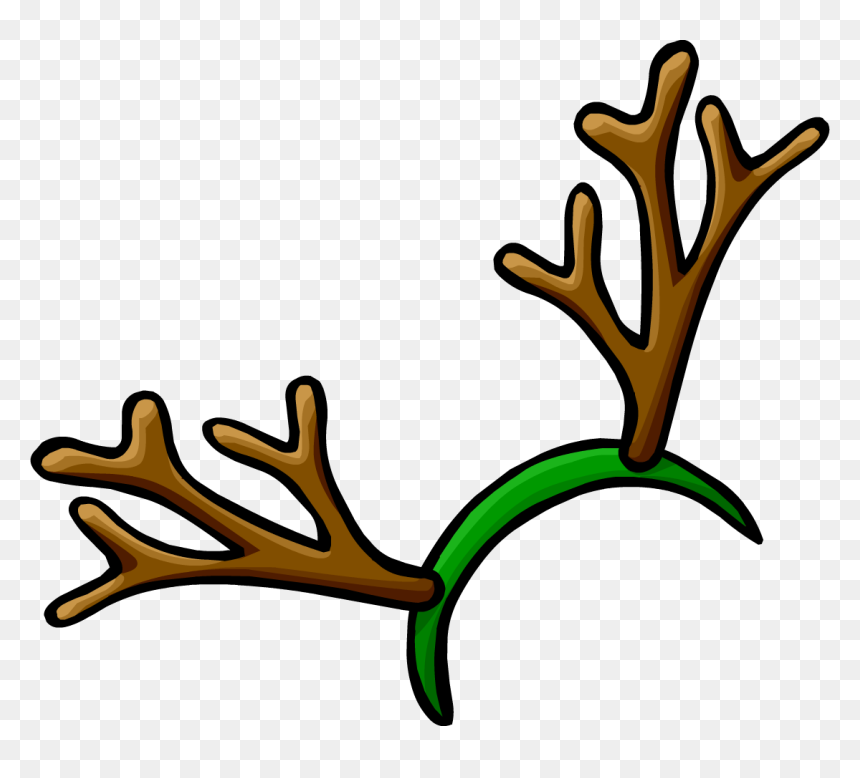 Christmas Antlers Png Transparent Background Reindeer Antlers Clipart Png Download Vhv