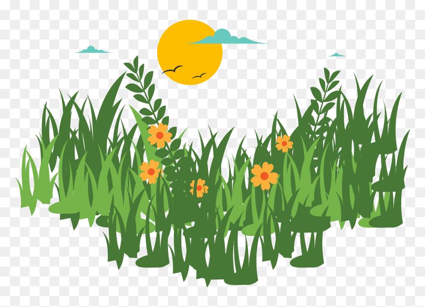 grass vector png rumput dengan bunga vector transparent png vhv grass vector png rumput dengan bunga