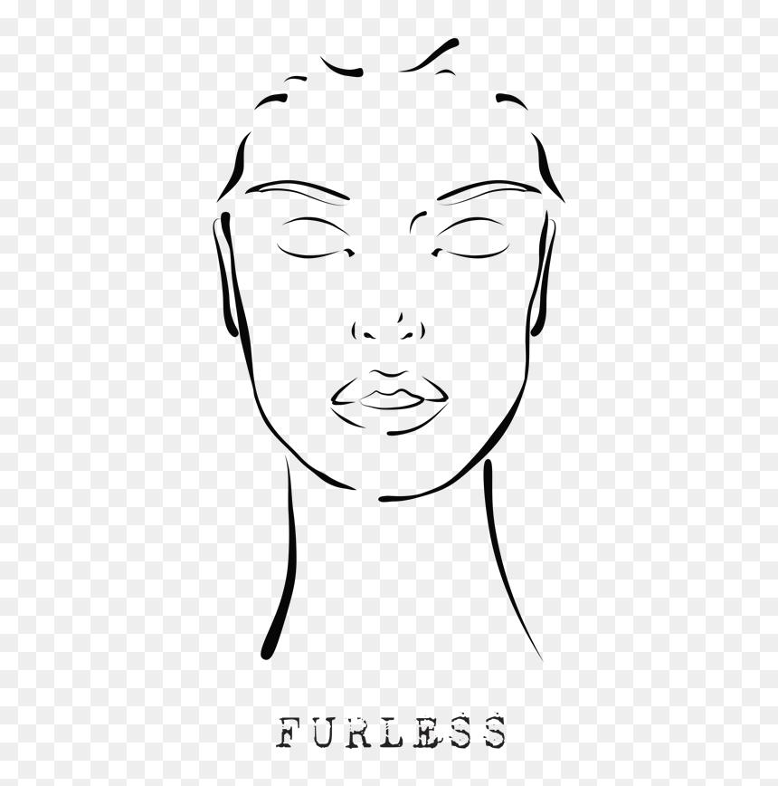 Enjoy Makeup Template Face Transparent Perfect Face Template Png