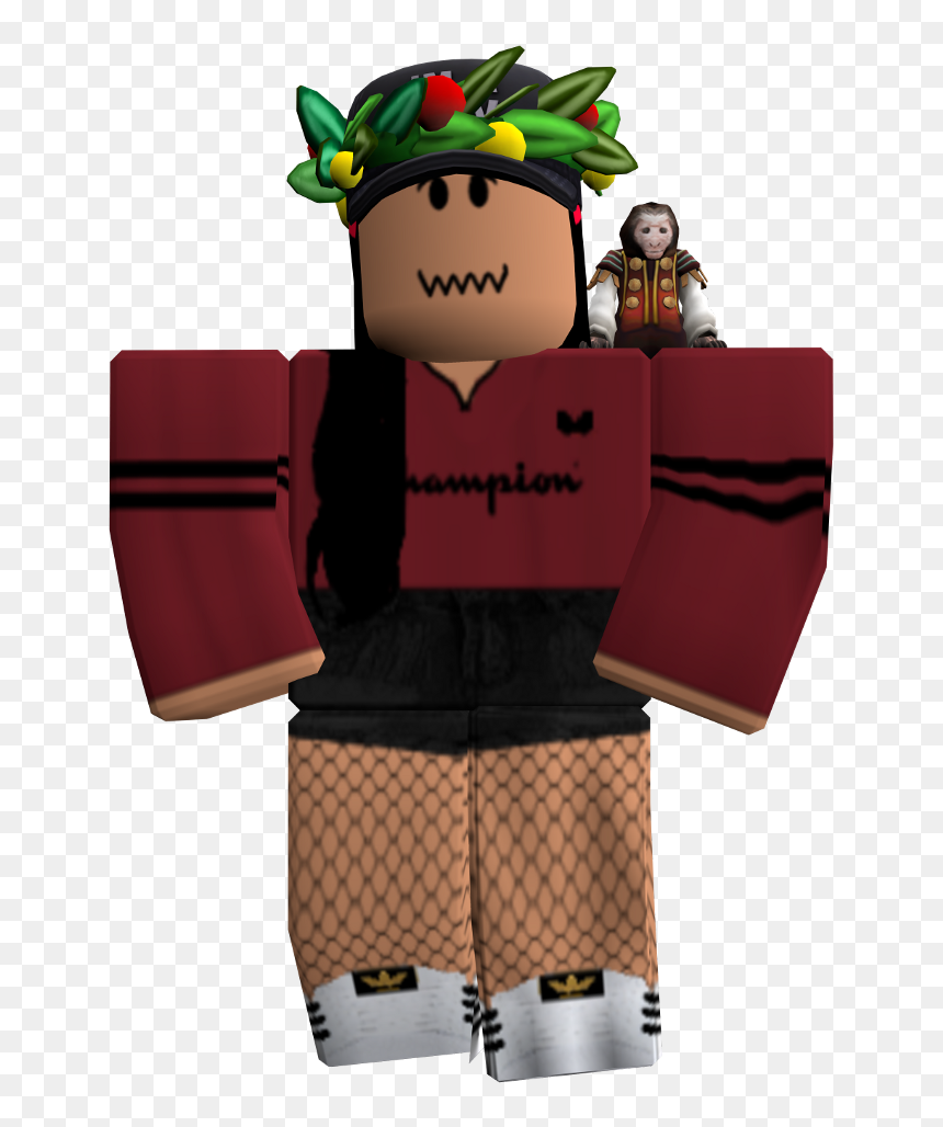 Roblox Pictures Characters Girls Transparent Roblox Character Png Cool Roblox Avatars Girl Png Download Vhv
