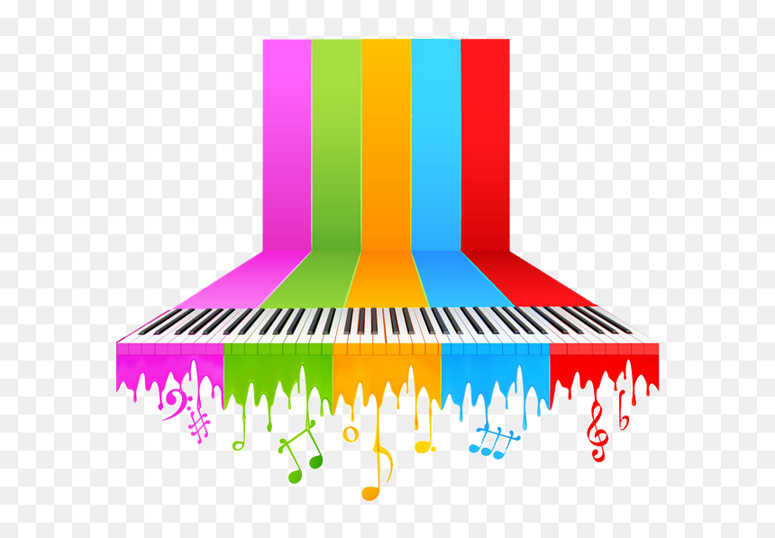 Transparent Color Music Notes Png Music Background Png Hd Png Download Vhv
