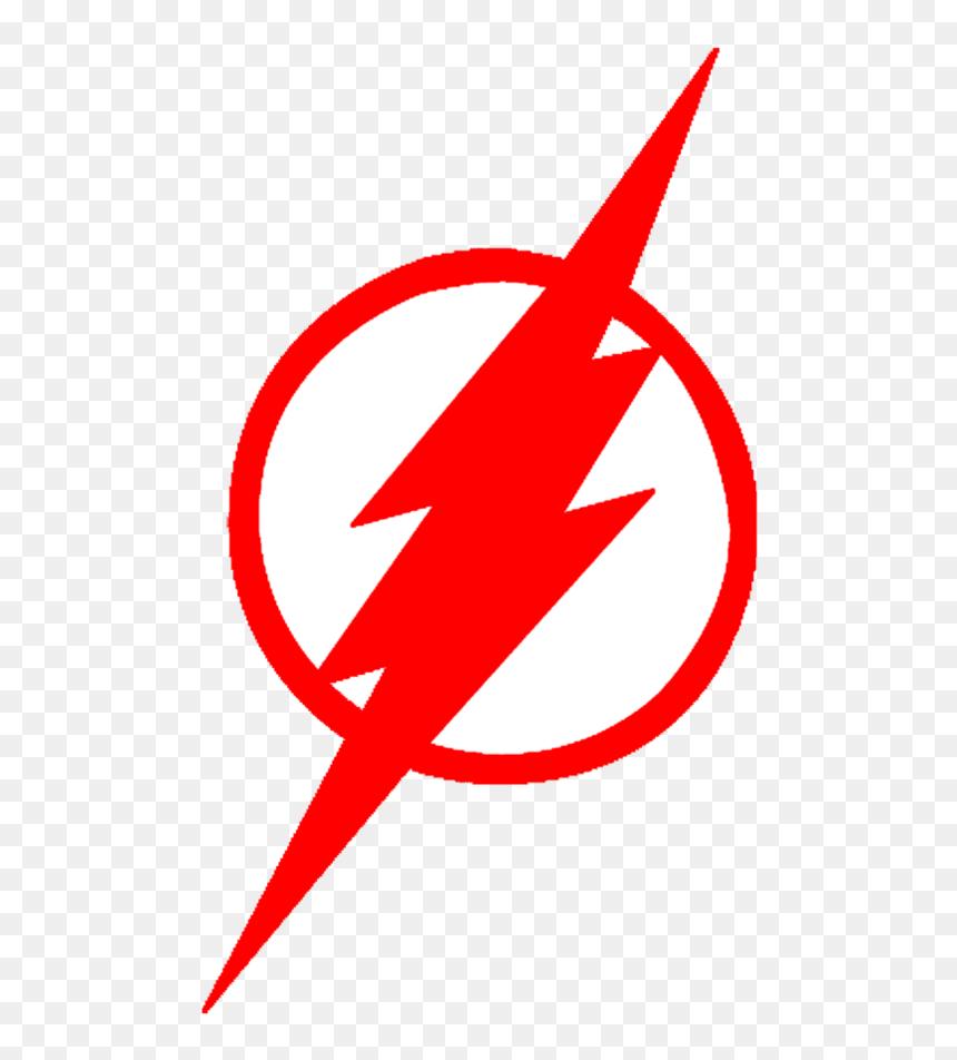 Stunning Ideas Red Lightning Bolt Logo Kid Flash Logo Png Transparent Png Vhv