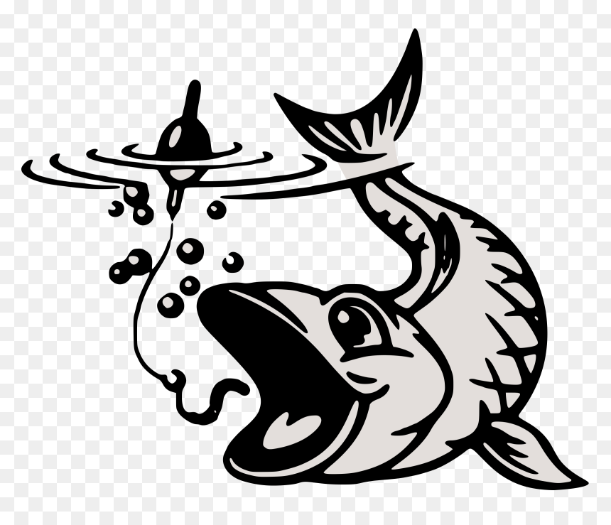 Download Hook Fishing Clipart Fish On A Hook Clip Art Hd Png Download Vhv