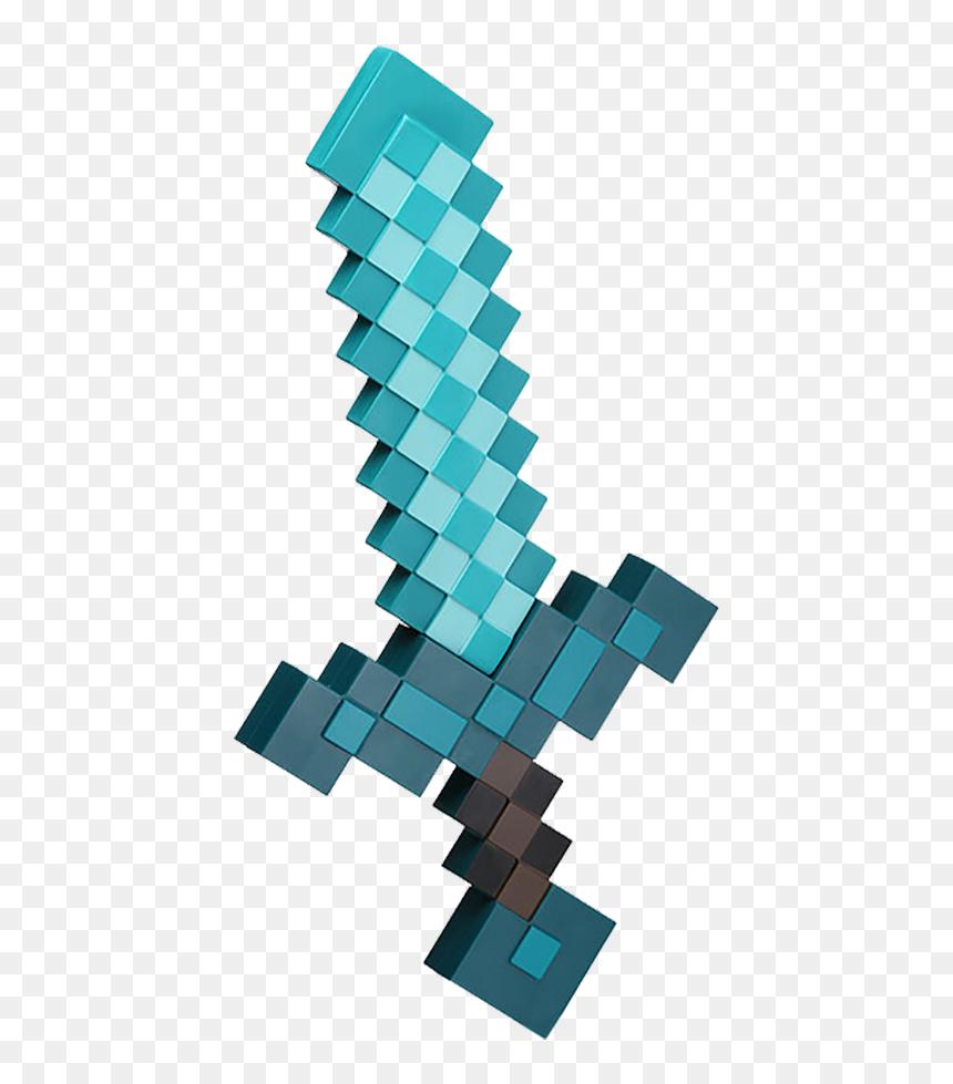 Minecraft Diamond Sword Hd Png Download Vhv