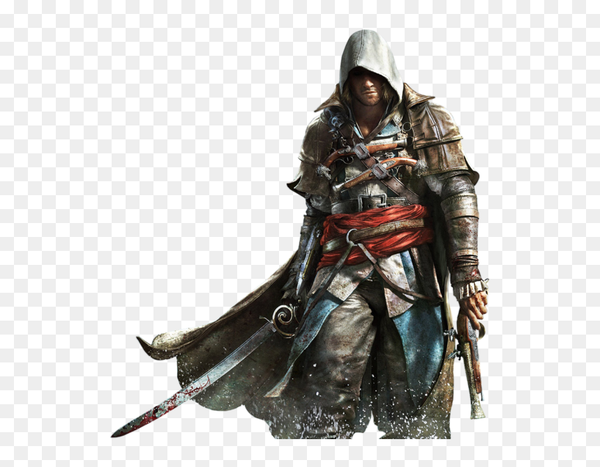 Assassins Creed Unity Clipart Anime Dark Assassin S Creed 4 Png