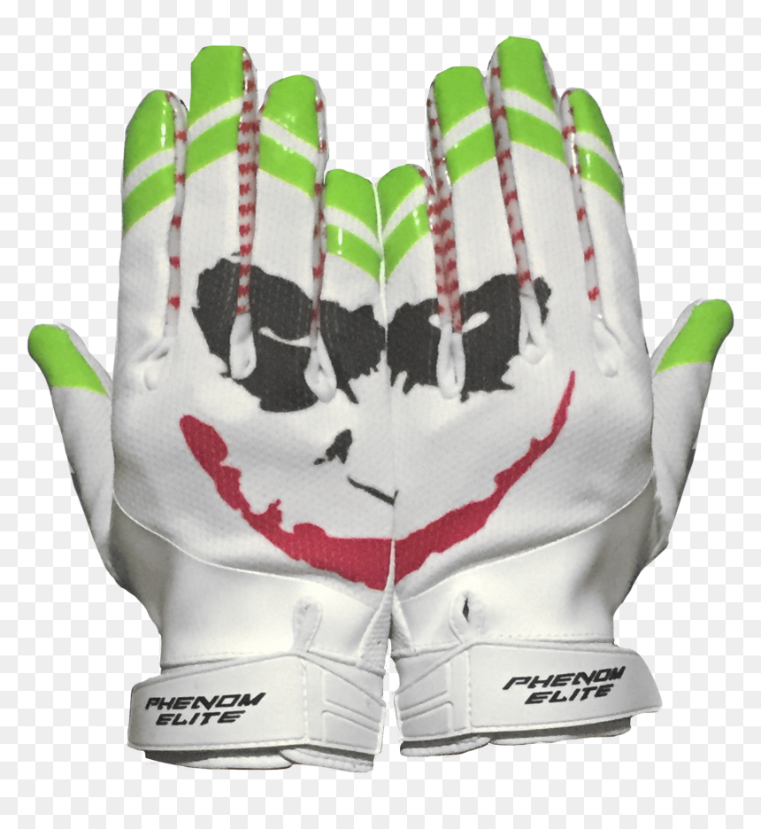 Phenom Elite Joker Football Gloves Hd Png Download Vhv