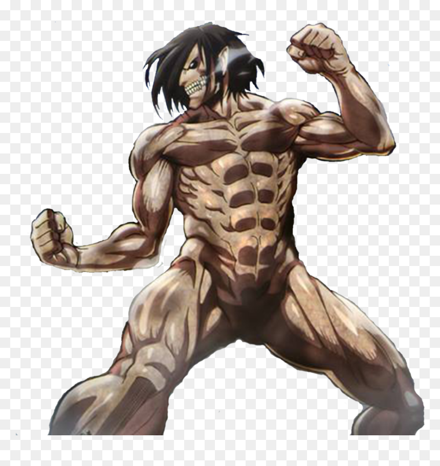 Attack On Titan Eren Titan Full Body Hd Png Download Vhv