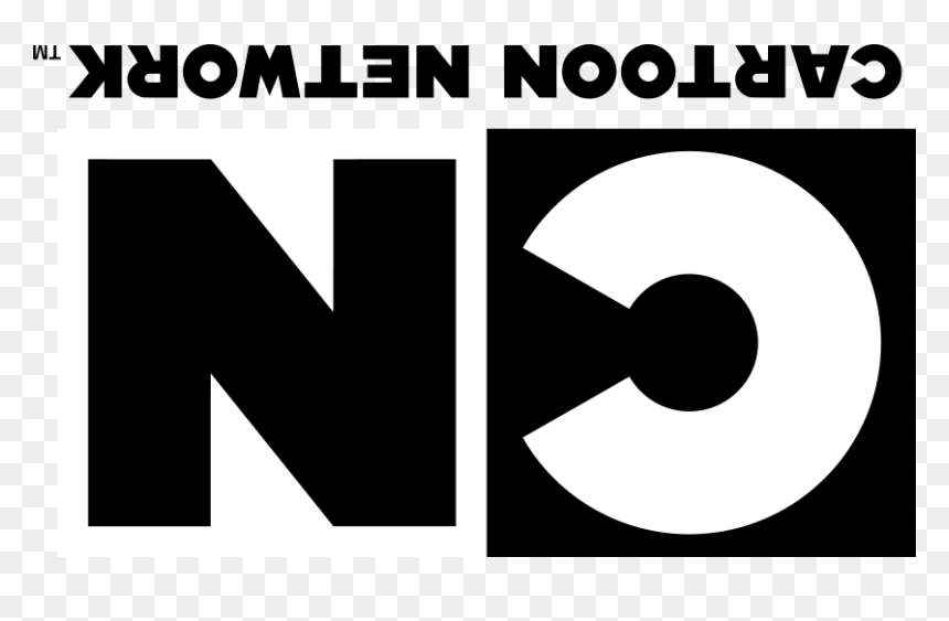 Cn Upside Down Logo Cartoon Network Logo 2011 Hd Png Download Vhv