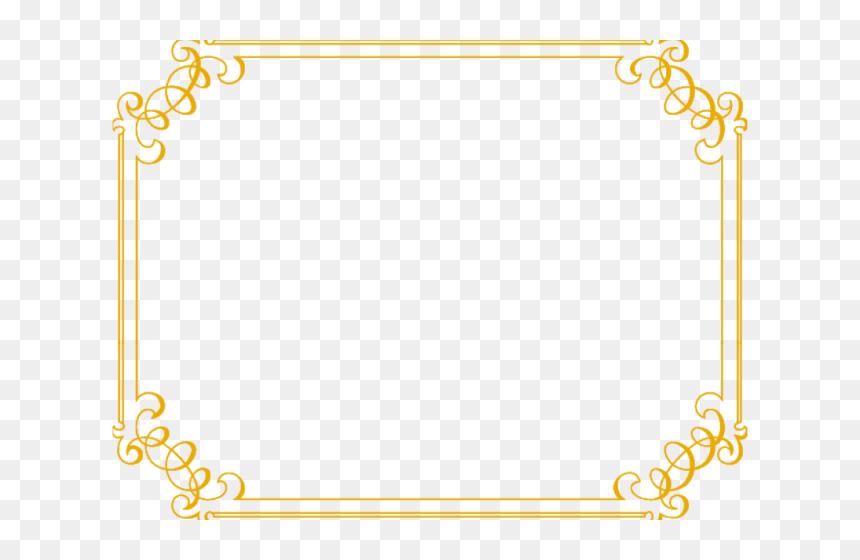 Wedding Transparent Images X Golden Border Transparent Background Hd Png Download Vhv