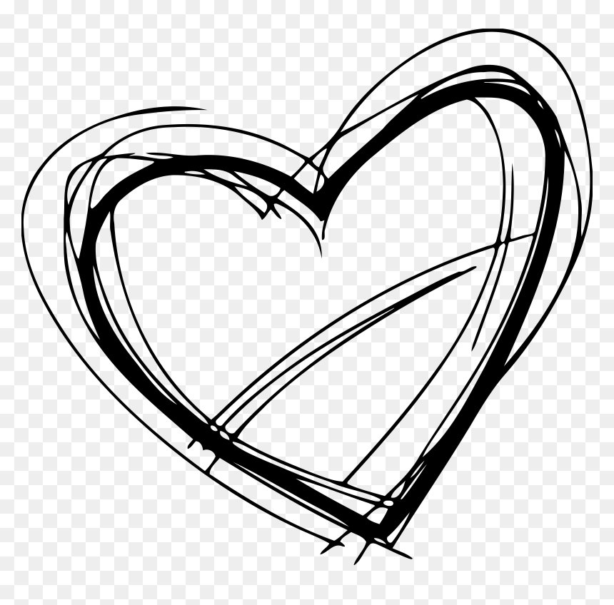 Sketched Heart Clipart Png Free Download Clipart Black And White Heart Sketch Transparent Png Vhv Use to make your decorative products. sketched heart clipart png free