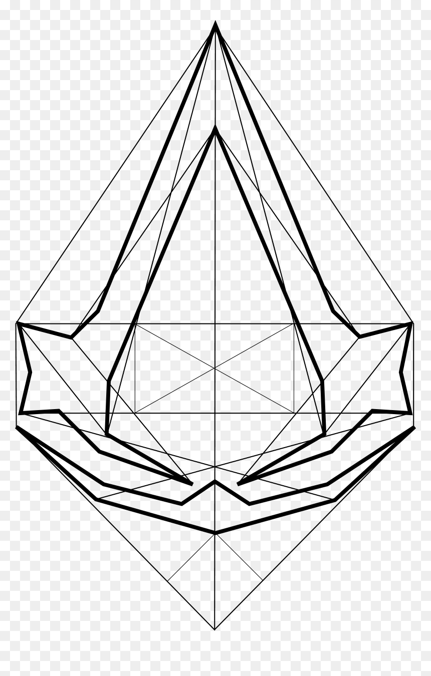 Assassins Creed Logo Png Assassin S Creed Line Logo Transparent Png Vhv