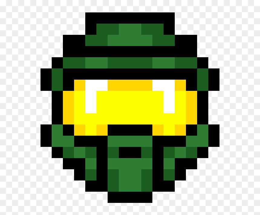 Master Chief Helmet Pixel Art Png Download Zora Legend Of