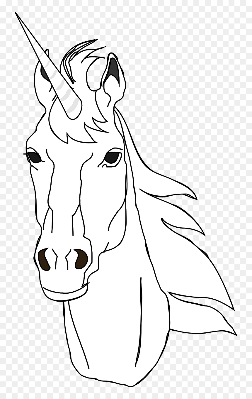 Horses Head Outline Clipart Hd Png Download Vhv