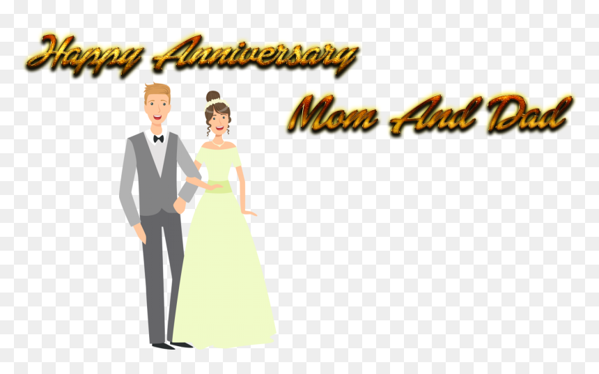 Happy Anniversary Mom And Dad Png Background Wedding Transparent Png Vhv