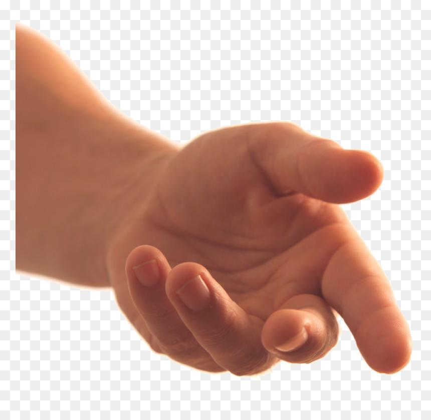 Hands Png Image - Holding Out Hand Transparent, Png Download - vhv
