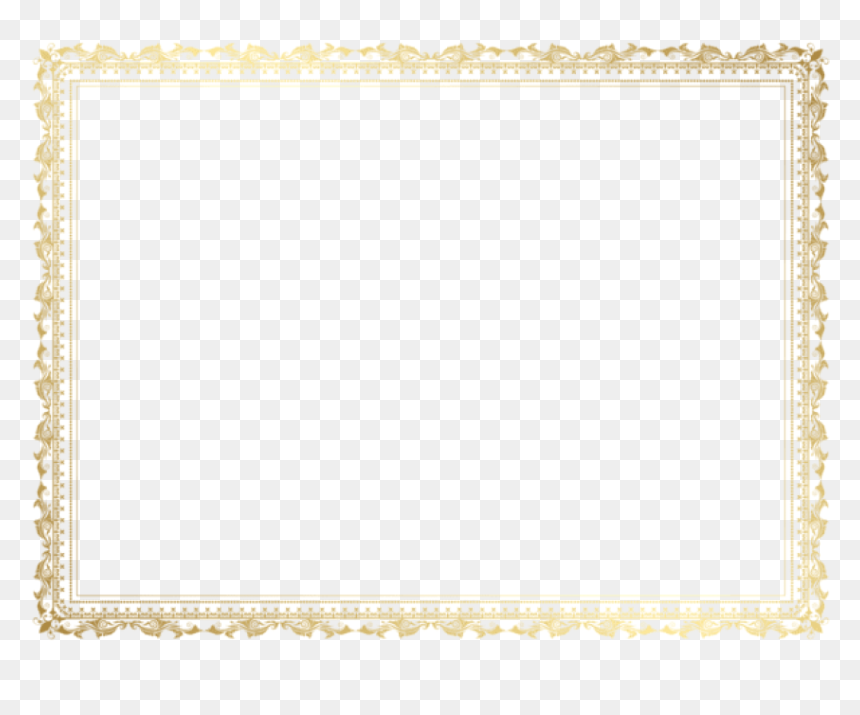 Free Png Download Decorative Border Frame Clipart Png Free Certificate Border For Microsoft Word Transparent Png Vhv
