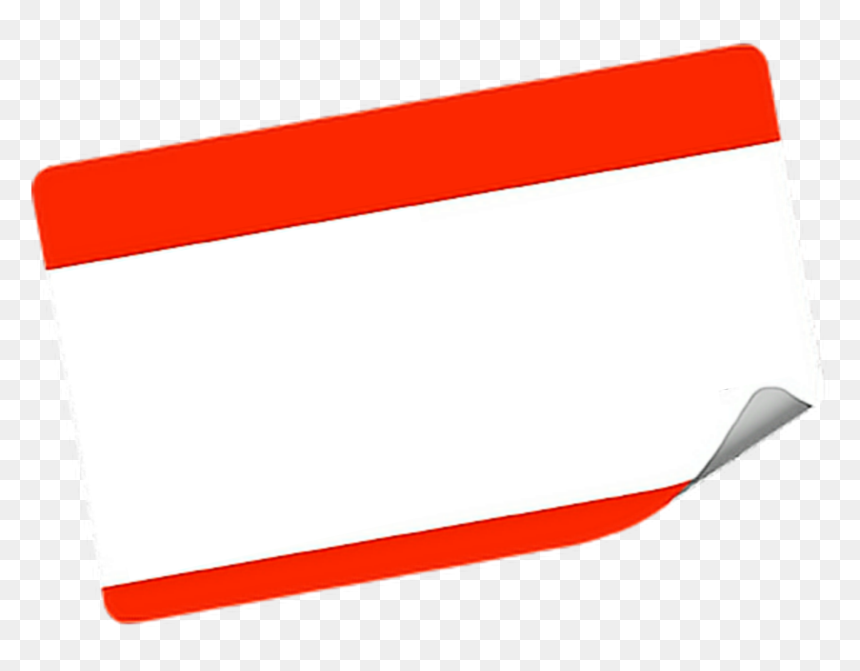 tag #name #nametag #blank #template #label, HD Png Download - vhv