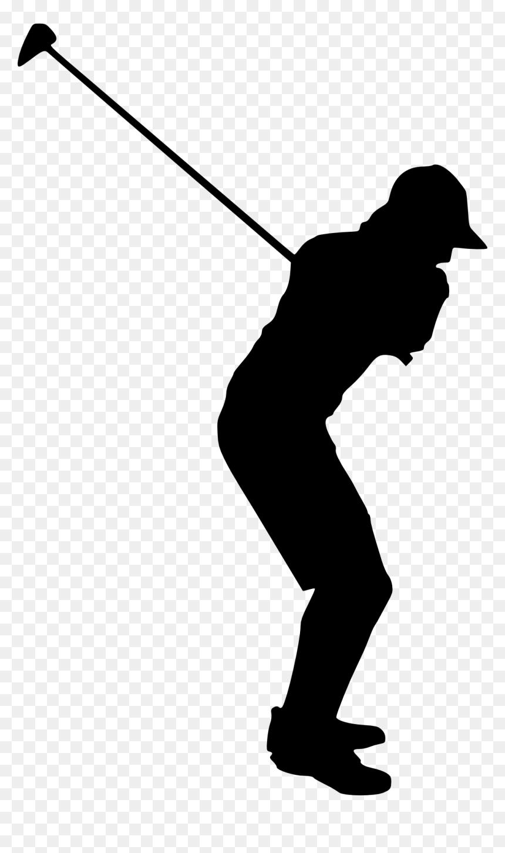 Transparent Background Golfer Silhouette Png Png Download Vhv