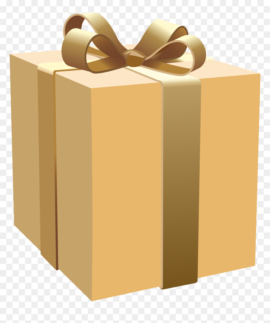Gifts Clipart Closed Box Real Gift Box Png Transparent Png Vhv
