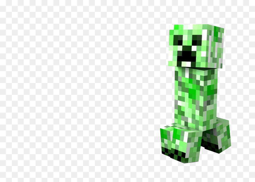 Creeper Background Png Transparent Background Minecraft Creeper