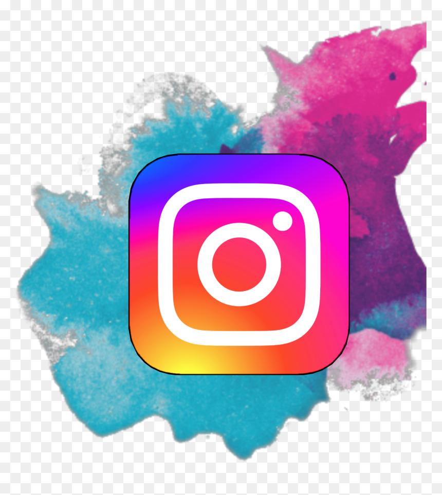 Instagram Logo Pastel Business Color Splat Transparent Background Hd Png Download Vhv