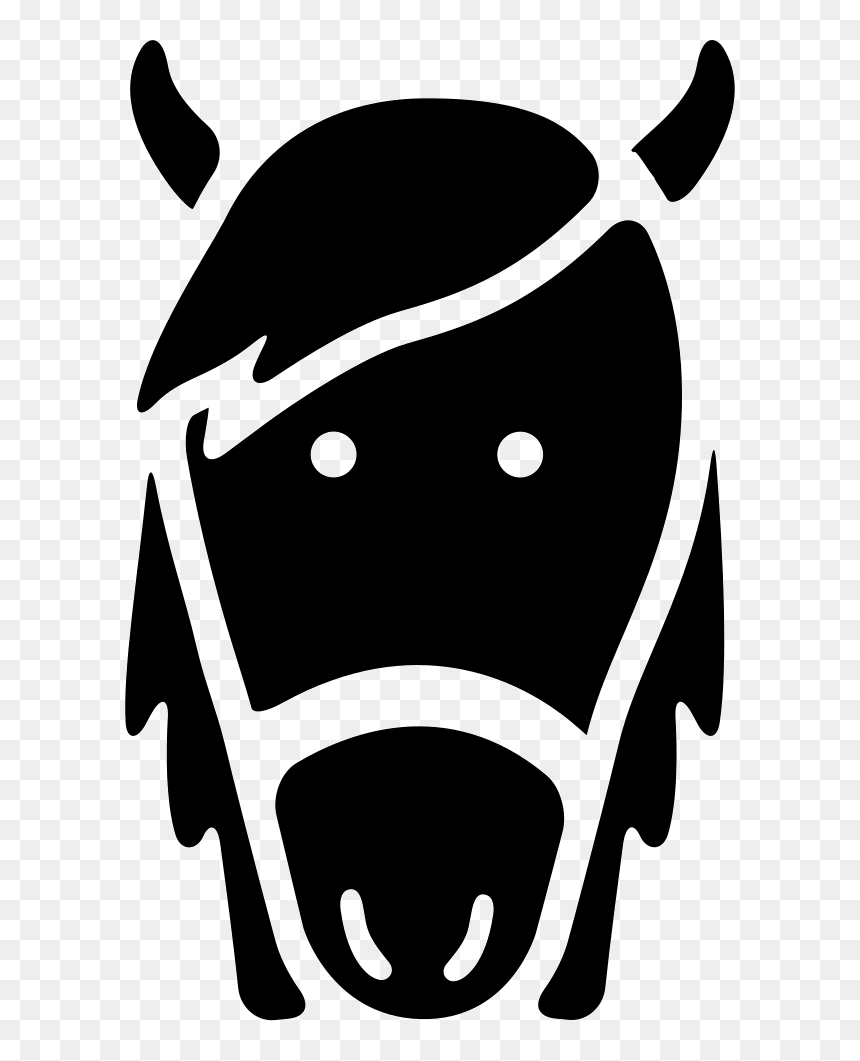 Transparent Horse Head Png Horse Head Icon Png Png Download Vhv