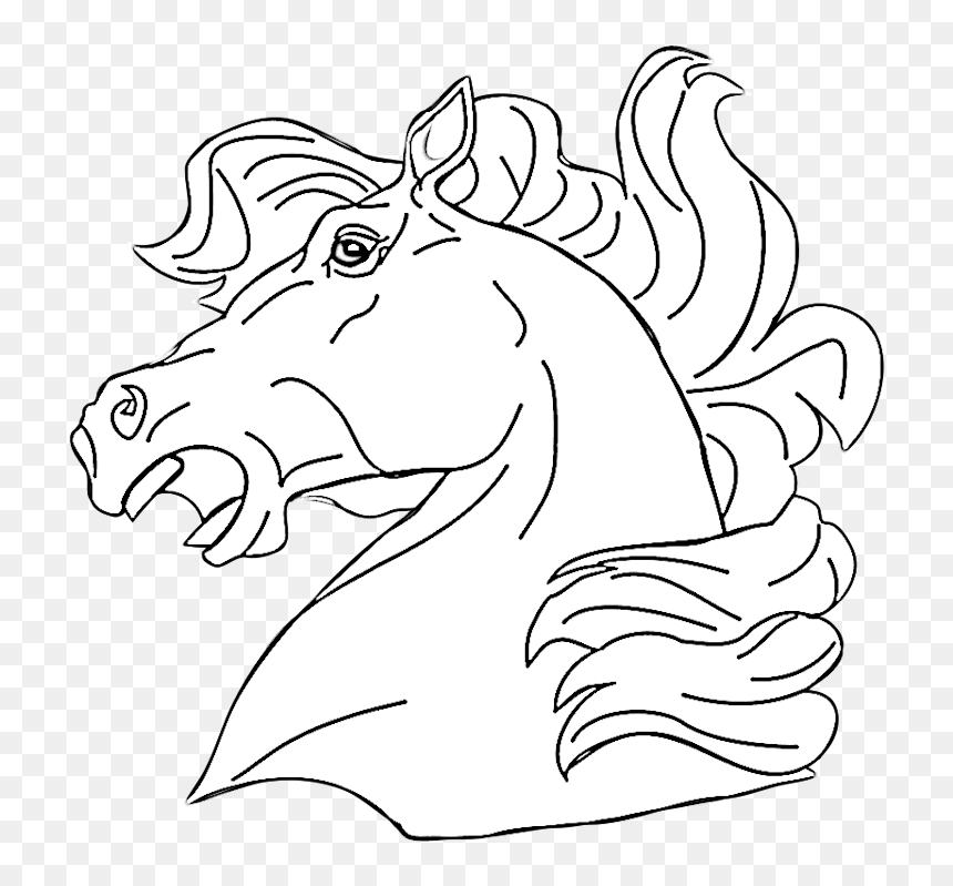 Horse Head Coloring Pages - Adame.dvrlists.com | Horse coloring ... | 799x860