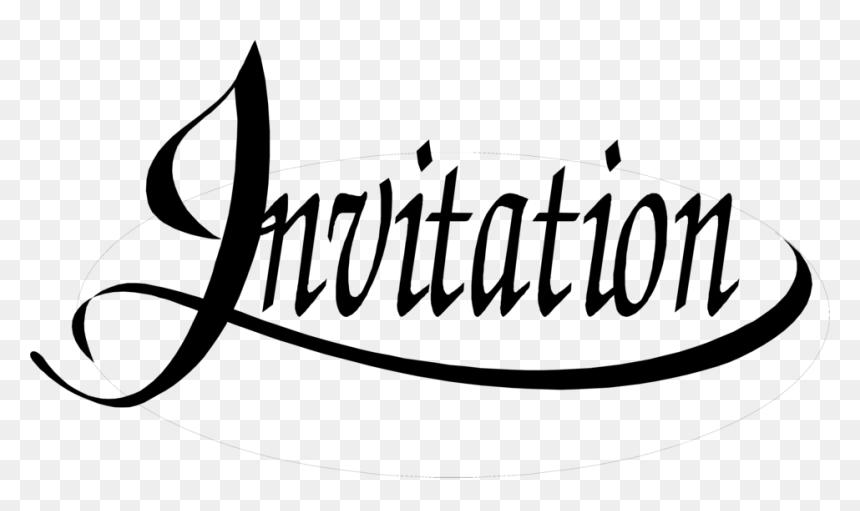 Uk Visa Application Wedding Invitation Black And White Clipart Hd Png Download Vhv