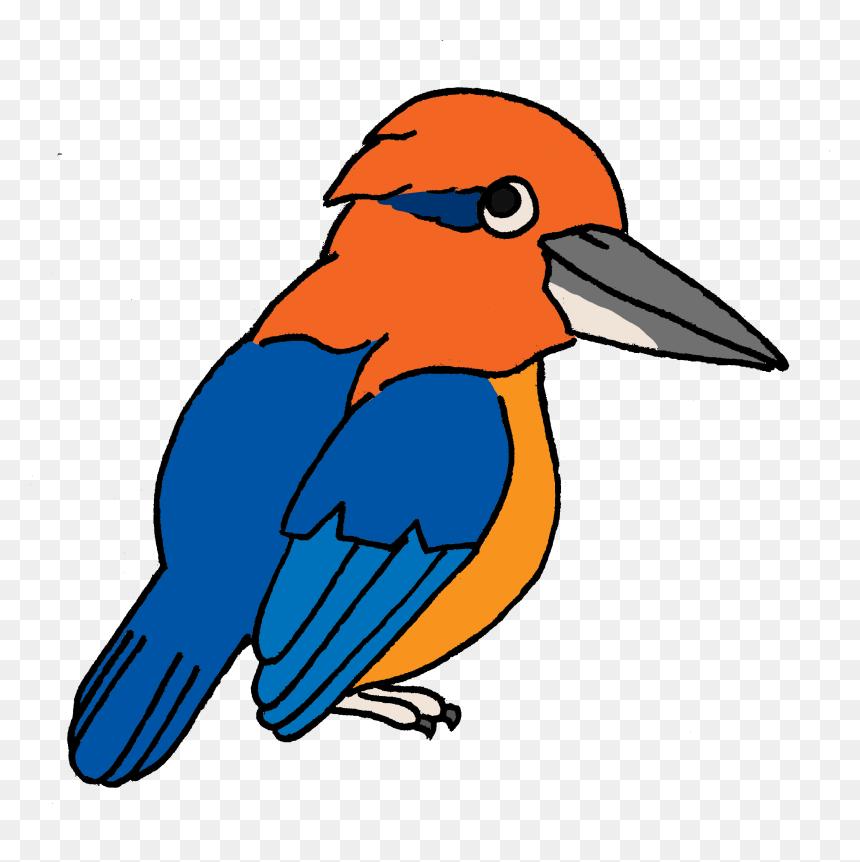 Endangered Island Dweller Guam Kingfisher Clipart Hd Png Download Vhv