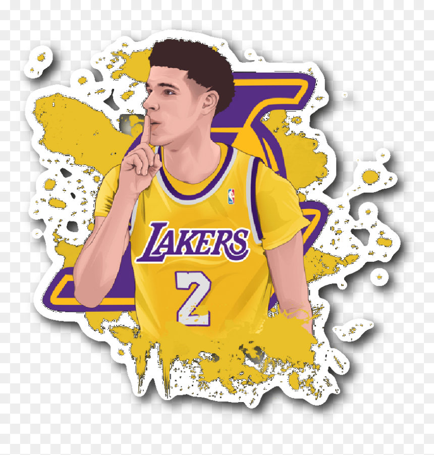 Lonzo Ball Png Png Download Lonzo Ball Wallpaper Cartoon Transparent Png Vhv