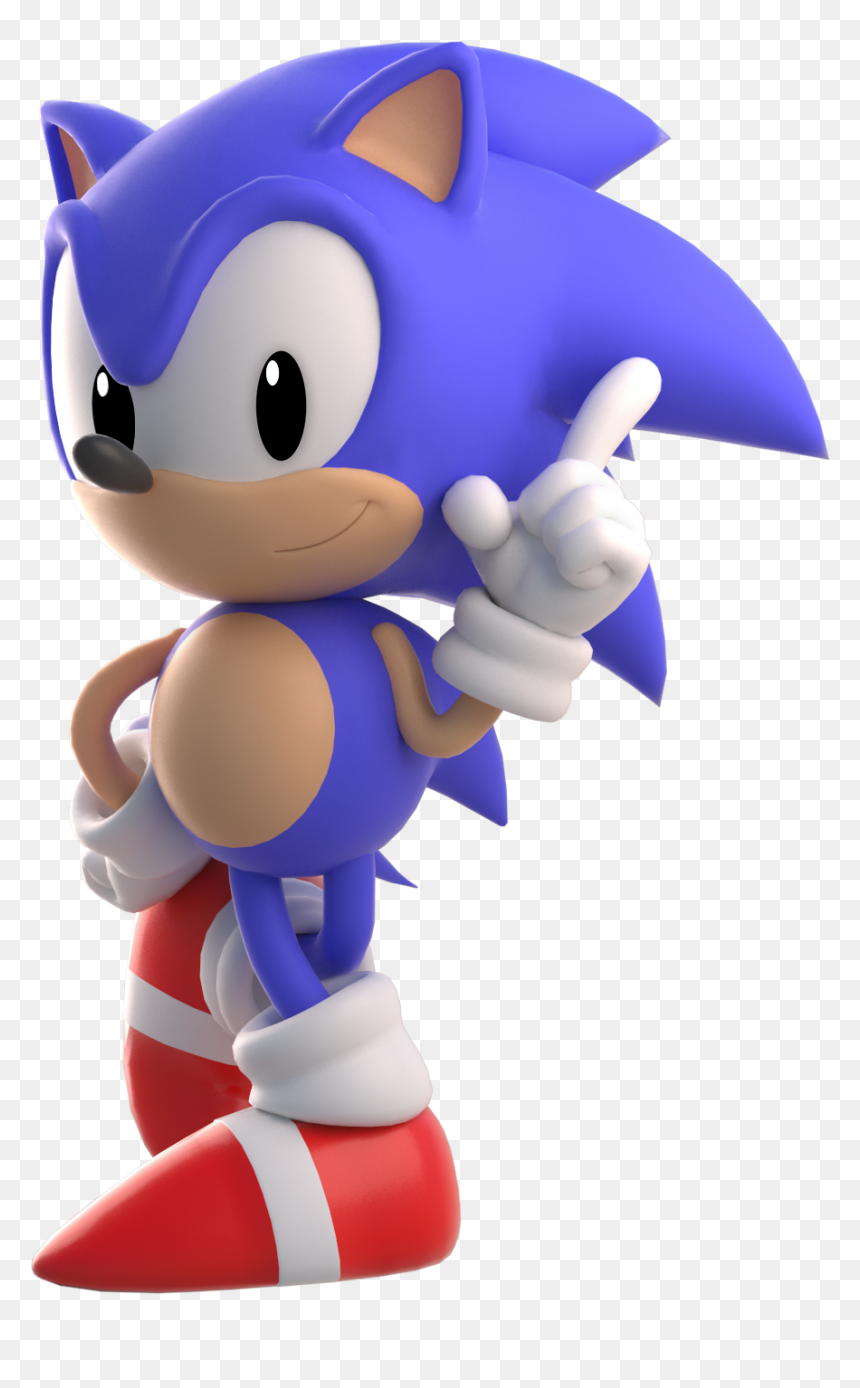 Classic Sonic Png Png Download Classic Sonic Transparent Background Png Download Vhv