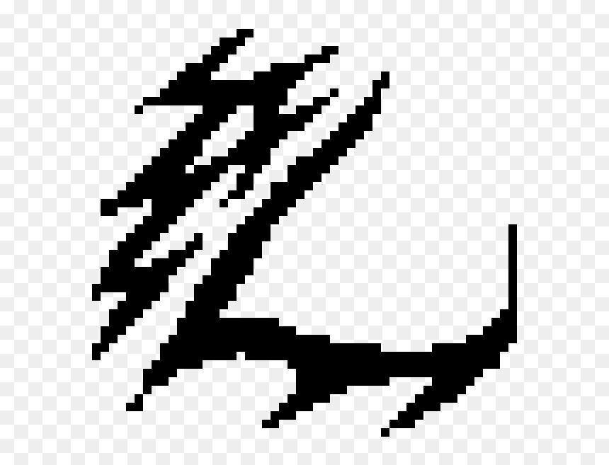 clipart minecraft logo black and white