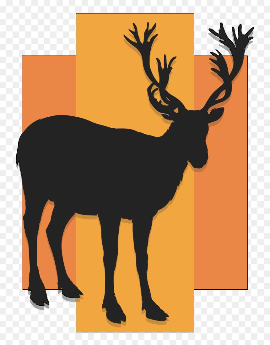 Clip Art Deer Horns Clipart - Reindeer Antlers Png Transparent Background,  Png Download - kindpng