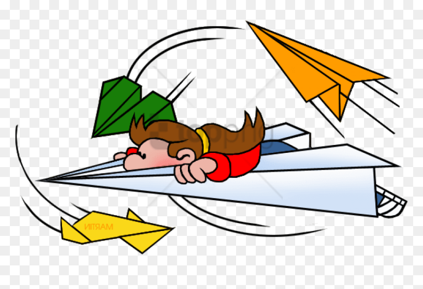 Free Png Download Paper Airplane Png Images Background Flying