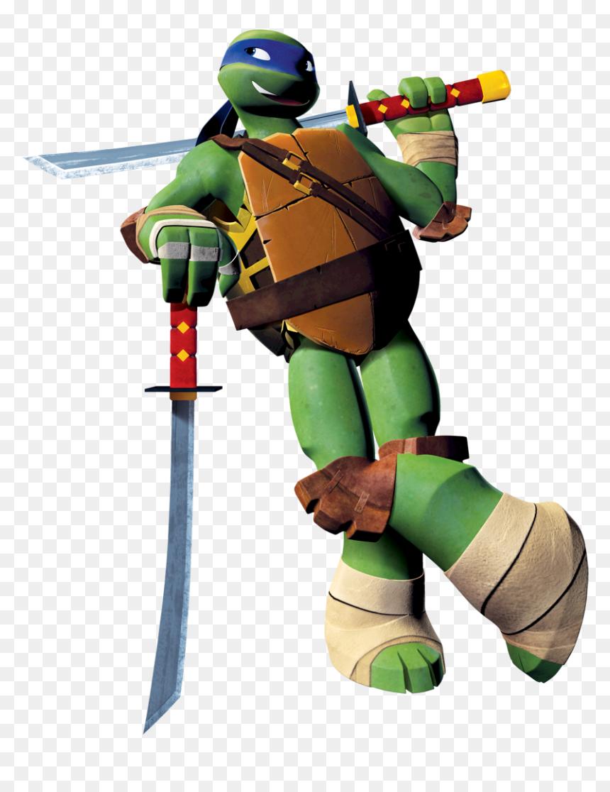 Transparent Tmnt Png Leonardo Teenage Mutant Ninja Turtles Png