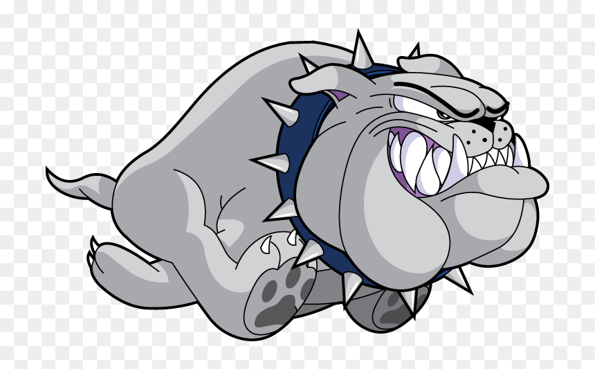Kraut S Running Of The Bulldogs Cartoon Bulldog Running Hd Png Download Vhv