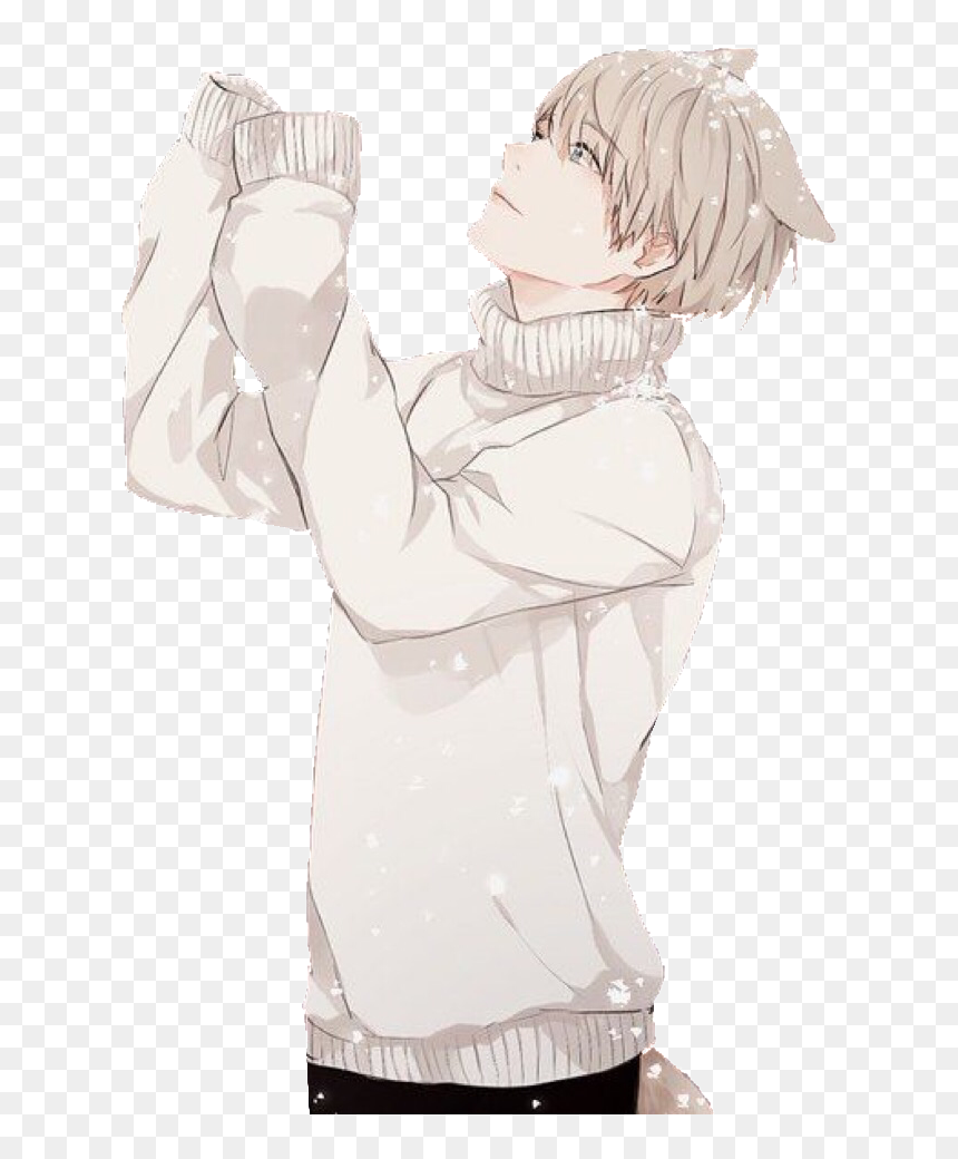 Comfy Anime Boy Png Download Anime Wolfboy Anime Wolf Boy Transparent Png Vhv