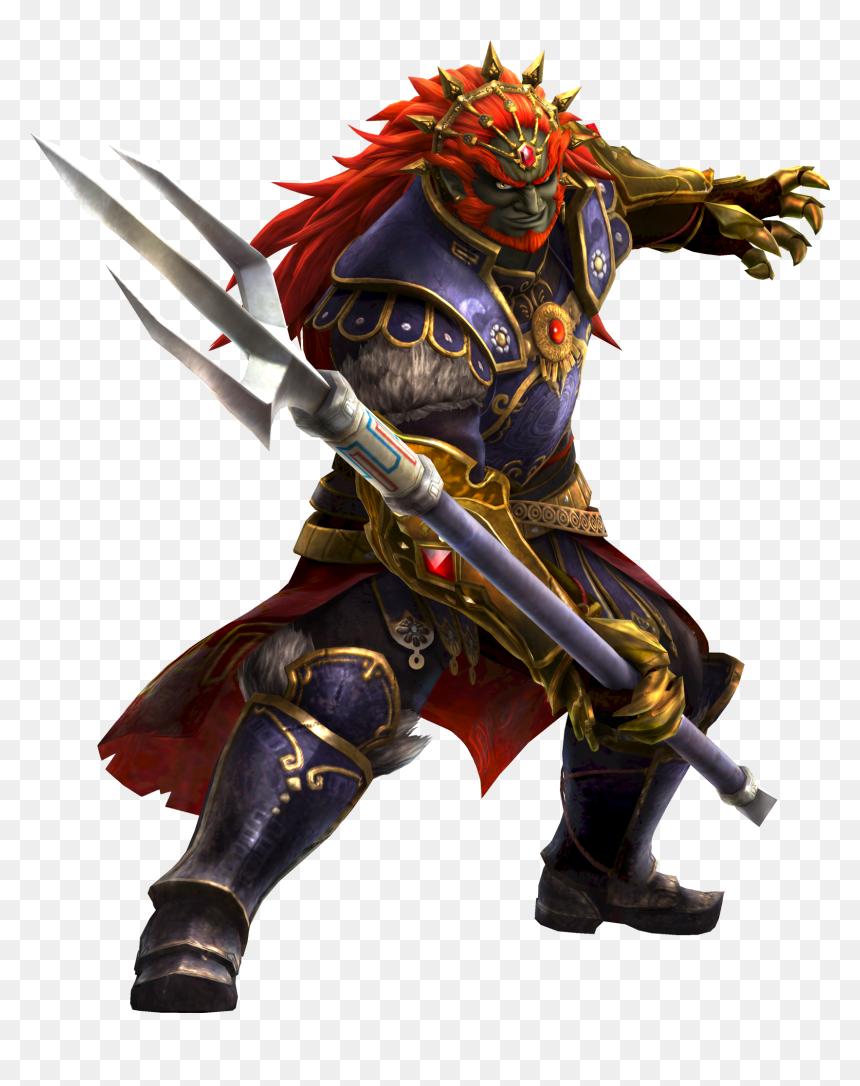 Hyrule Warriors Ganondorf Trident Png Download Legend Of Zelda Four Swords Adventures Ganon Transparent Png Vhv
