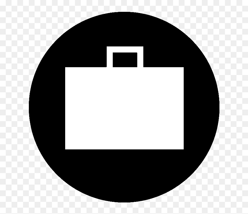 Work Experience Icon Black Png Download Black Circle White Triangle Transparent Png Vhv
