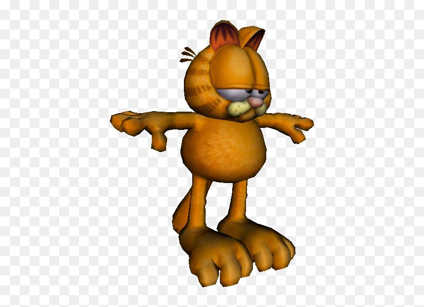 Download Zip Archive Garfield T Pose Meme Hd Png Download Vhv