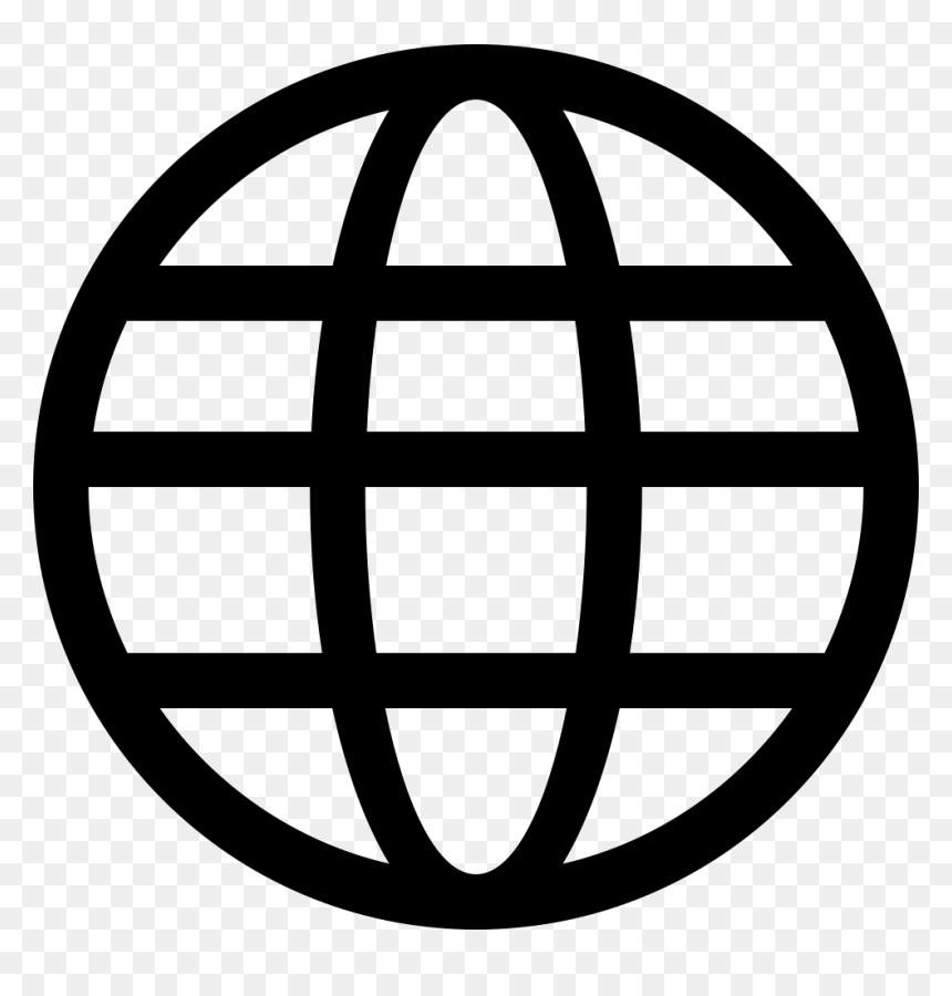 Website Svg Web Address Transparent Png Clipart Free Globe Icon Black Png Png Download Vhv