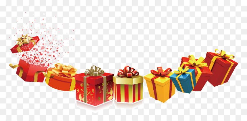 Holiday Gift Box Png Gifts Png Transparent Png Vhv