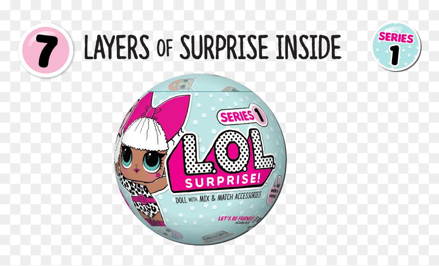 Lol Surprise Series 1 Wave 1 Png Download Lol Surprise Serie 1 Logo Transparent Png Vhv