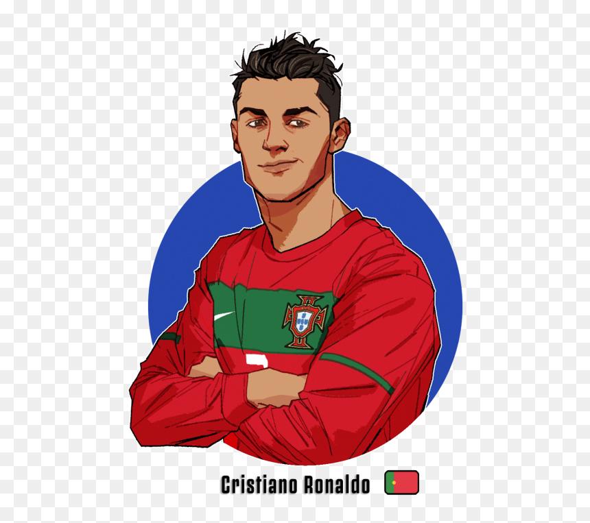 Clip Art Black And White Library Cristiano Ronaldo Cristiano Ronaldo Cartoon Png Transparent Png Vhv